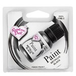 RD METALLIC FOOD PAINT BLACK 25ML