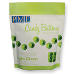 PME Candy Buttons, Light Green, 340g