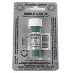 SUGARFLAIR EDIBLE LUSTRE CHRISTMAS GREEN, 2G