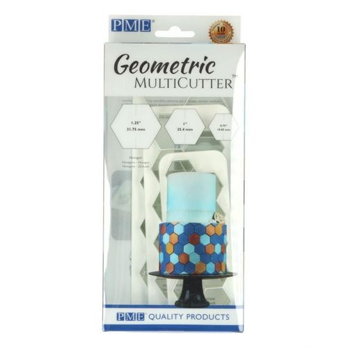 PME GEOMETRIC MULTICUTTER HEXAGON SET/3