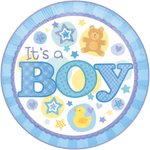 """It's a Boy"" Tortenaufleger"