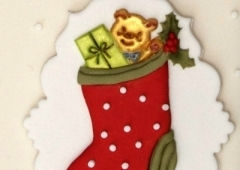 "Patchwork Cutters ""Christmas Stocking"""