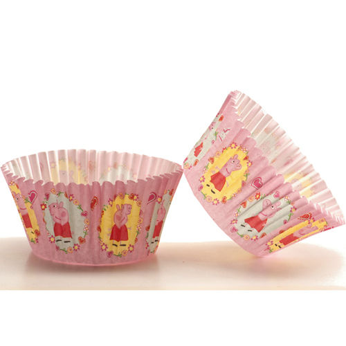 BAKING CUPS Peppa Wutz PKG/50