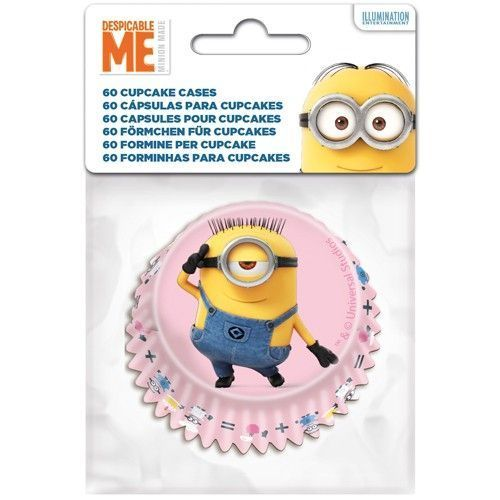 STOR BAKING CUPS MINIONS PKG/60