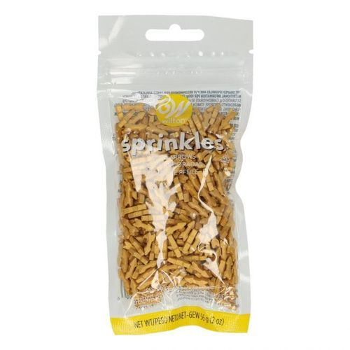 WILTON SPRINKLES -GOLD ARROW- 56G