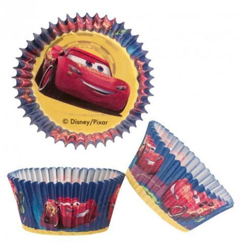 BAKING CUPS Cars PKG/50