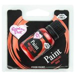 RD METALLIC FOOD PAINT RED 25ML