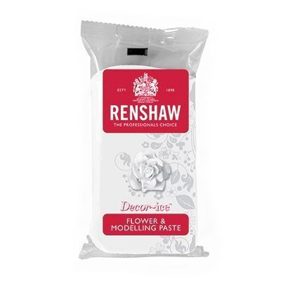 RENSHAW FLOWER & MODELLING PASTE -WHITE- 250G