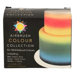SUGARFLAIR AIRBRUSH COLOUR COLLECTION 8X14ML