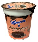 Manner - Schokolade Glasur - 200 g
