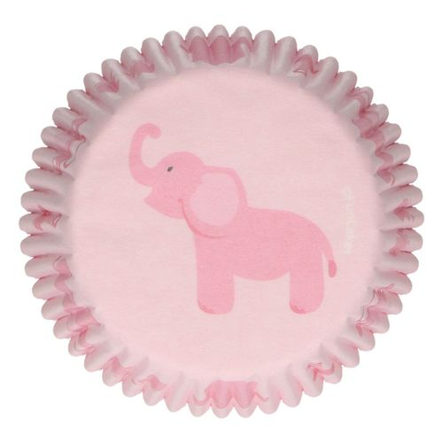 FUNCAKES BAKING CUPS -BABY MÄDCHEN- PK/48