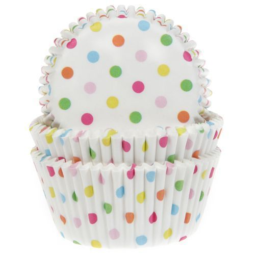 HOUSE OF MARIE BAKING CUPS CONFETTI PKG/50