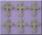 Decorative Crosses Silikonform